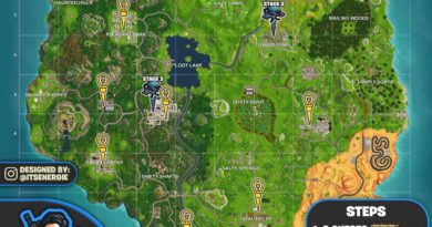 Fortnite Cheat Map Season 6 Week 1