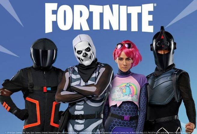 Fortnite Halloween Collection Costumes