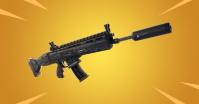 Fortnite Suppressed AR
