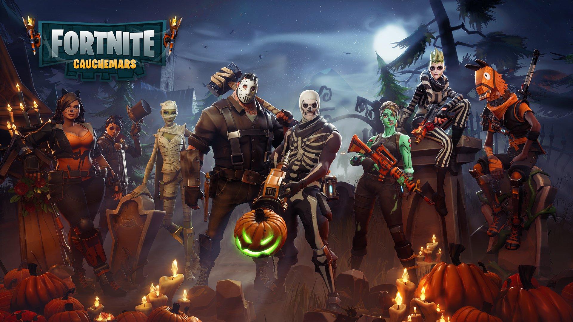 Fortnite Wallpaper Halloween