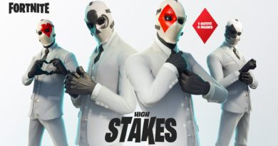 Fortnite High Stakes Outfit