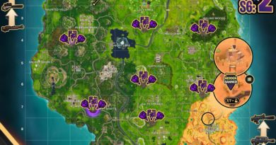 Fortnite Season 6, Week 1 – Cheat Sheet Map
