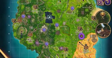 Fortnite Cheat Map Season 6 Week 3