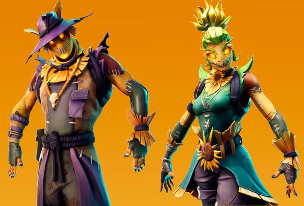 Fortnite Leaked Scarecrow Skins