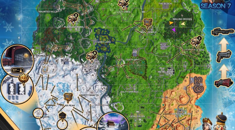 Fortnite Cheat Map Season 7 Week 3