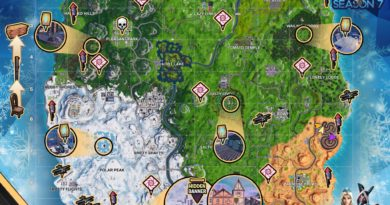 Fortnite Cheat Map Season 7 Week 4
