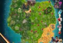 Fortnite Season 7, Week 6 – Cheat Sheet Map & Challenges
