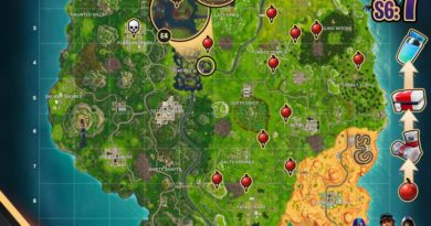 Fortnite Cheat Map Season 7 Week 6