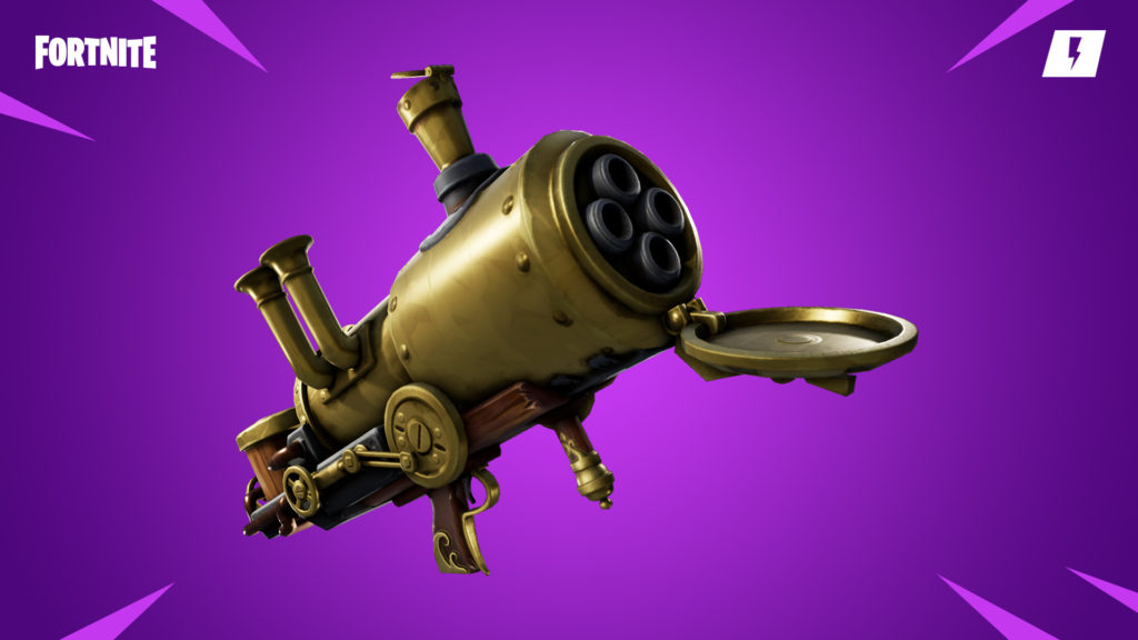 Fortnite Cannonade Launcher